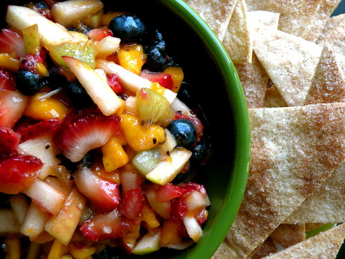 MF Fruit Salsa and Chips