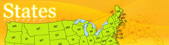 Graphics of States page banner