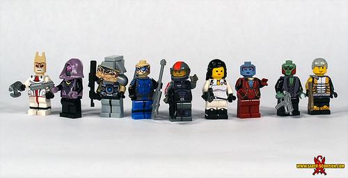 Custom minifig mass effect 2 custom lego minifigures