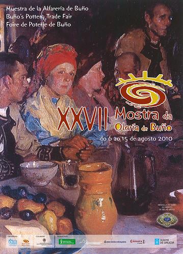 Malpica - Buño - Mostra de Olería de Buño - 2010 - 27ª edición - agosto - cartel