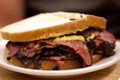 pastrami sandwich @ katz's