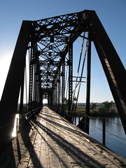 Paragon Bridge,Milwaukee Road,Montana. (montanatom1950) Tags: railroad abandoned montana decay debris tracks bridges fallen milwaukee dust derelict yellowstoneriver railroads trestles milwaukeerailroad milwaukeeroad milescity fallenflags milescitymontana