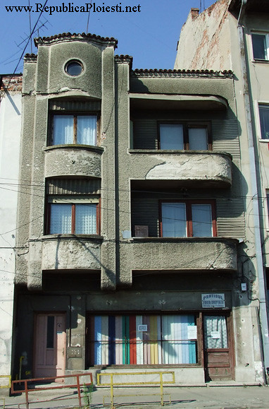 Art Deco in Ploiesti - Casa Anton Macelaru