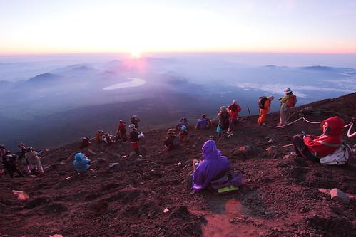 at Mt. Fuji