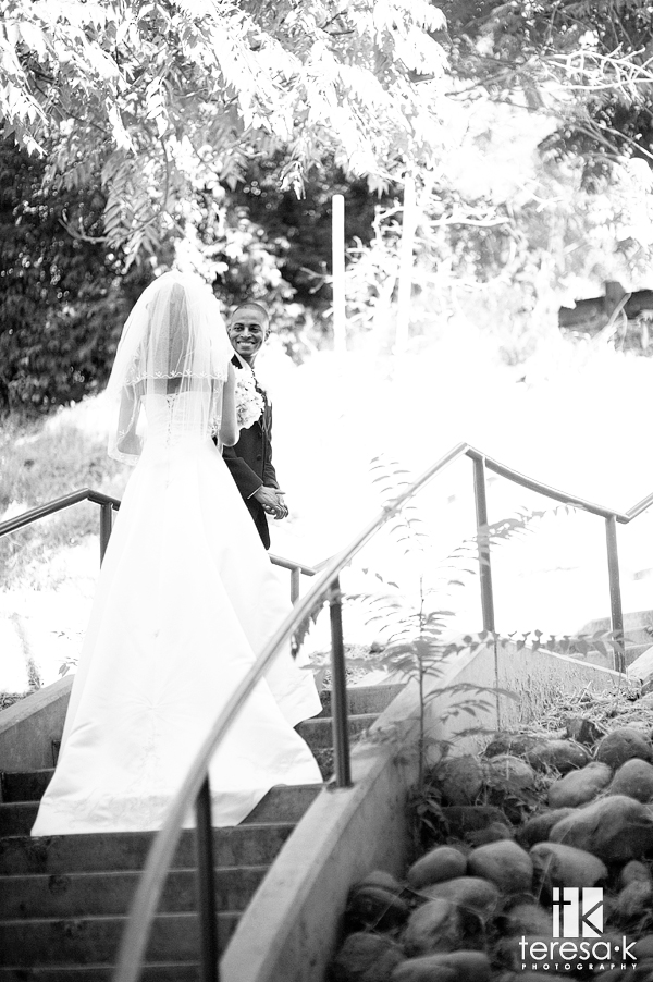 Folsom wedding photographer at Lake Natoma