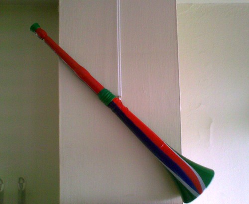 My very own vuvuzela
