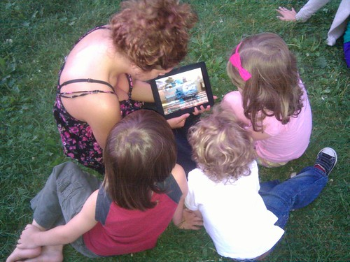 Gather round the iPad