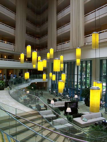 Lobby of the TPC Sawgrass Marriott Golf Resort & Spa
