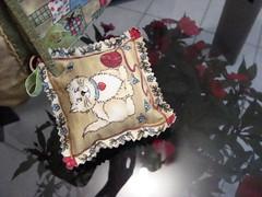 """Chaveirinho desta Bolsa! (""""Feltro Flor"""") Tags: quilt patchwork bolsa bolsas aula molde tecido bordado costura necessaire"""