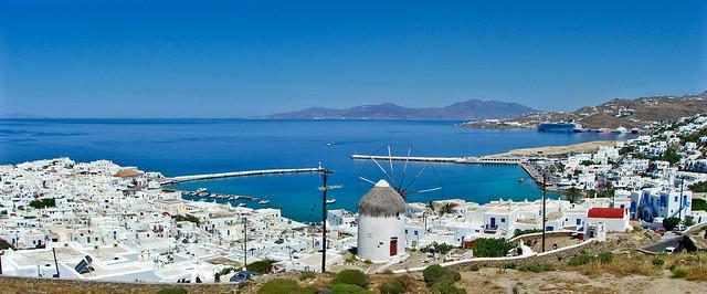 Mykonos Town pano