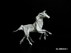 Sleipnir (Al3bbasi.) Tags: horse origami fantasy mythical sleipnir kamiyasatoshi al3bbasi 8leggedhorse