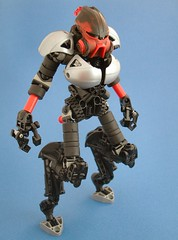 Cyborg Satyr (Mechanekton) Tags: lego technic figure cyborg bionicle satyr