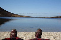 worth the walk (yorkshirepuddin) Tags: mountain feet beach water beautiful landscape scotland sand boots loch arran isleofarran drmartins dms doccas
