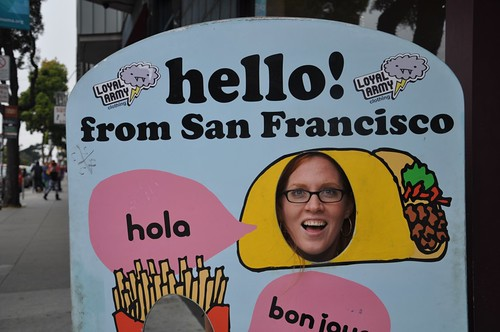 Hello! From San Francisco