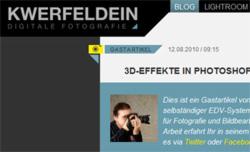 Gastbeitrag mit Tutorial auf Kwerfeldein.de