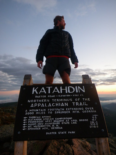 Chris @ Katahdin Summit
