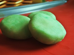 green shamrock sugar cookies - 30