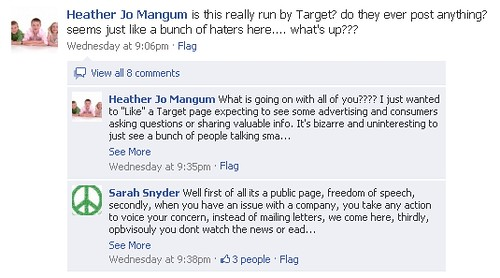 """""""I just wanted to 'Like' a Target page...."""""""
