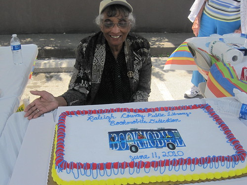 "Zelma Wright was one of the many ""Friends of the Library"" members that were on hand to assist with the dedication ceremony."