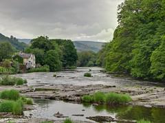 River Dee at Llangollen, Wales