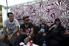 Intervju med Trash Talk på Øyafestivalen 2010