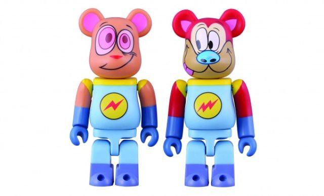 Ren-Stimpy-Astronaut-Bearbrick-Set