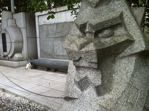 狛犬とネコ1