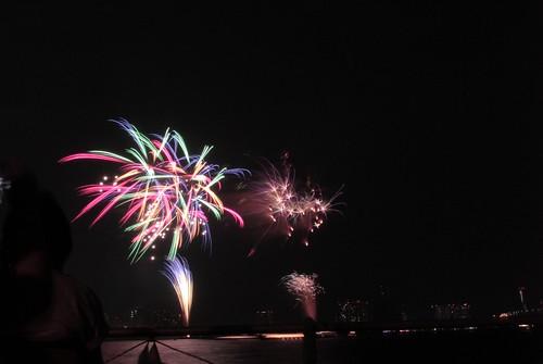 第23回東京湾大華火祭 虹