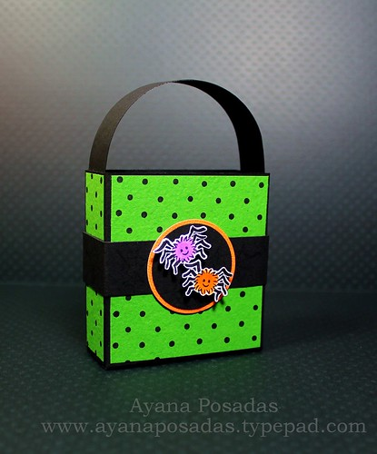 Halloween Polka-Dot Treat Bags (5)