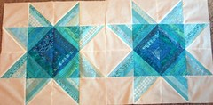 Challenge Quilt 1 First 2 blocks 004