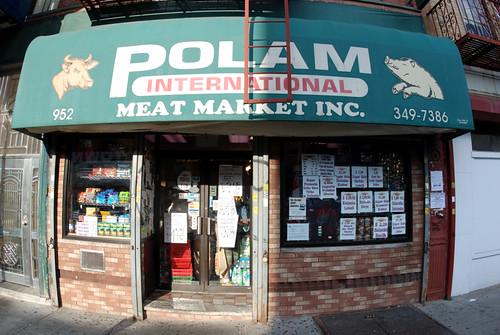Polam Polish butcher