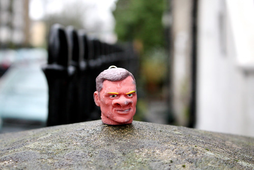 Action Man head:Detached