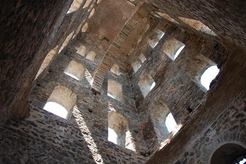 Campanario del monasterio de Sant Pere de Rodes