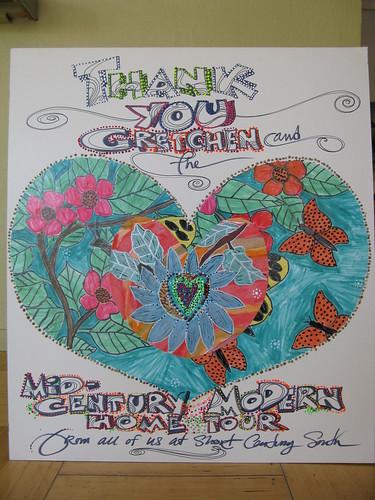 Handmade card from Short Center South