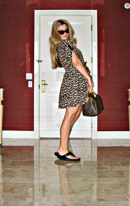 what I wore shopping in vegas