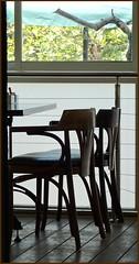 Reserved... (Mike Goldberg) Tags: silhouette tablechairs caferestaurant jerusalemcorridor panasonicfz35 silhouettepartial luigisitalian