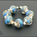 Ocean Wave - Lampwork Glass Beads by Clare Scott SRA