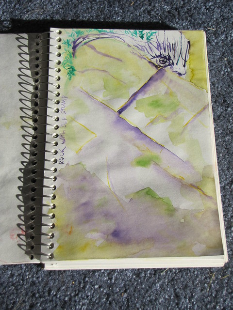 watercolor sketch 8/11/10