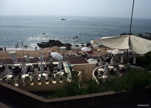 Bar au bord de la plage