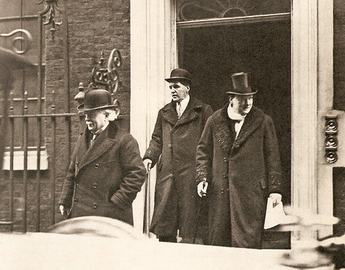 Lloyd George and Churchill, 1922