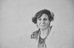 (miri orenstein) Tags: portrait woman illustration pencil drawing