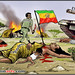 Meles Zenawi is the perpetrater of the genocide going on in the Somali region of Ethiopia known as Ogadenia