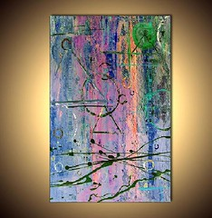 """""""I'm (outta time)"""" by Nicolas Grasset Art (Nicolas Grasset Art) Tags: light abstract color art modern painting artwork colorful paint acrylic contemporary moderne canvas lumiere tableau toile abstrait comtemporain"""