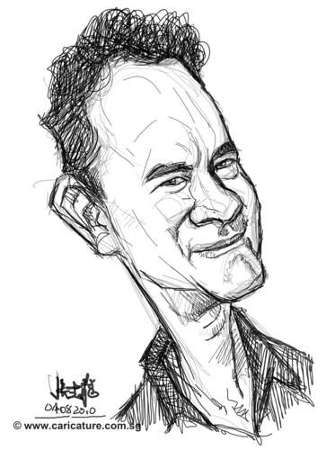 Schoolism - Assignment 1 - Sketch 2 of Tom Hanks