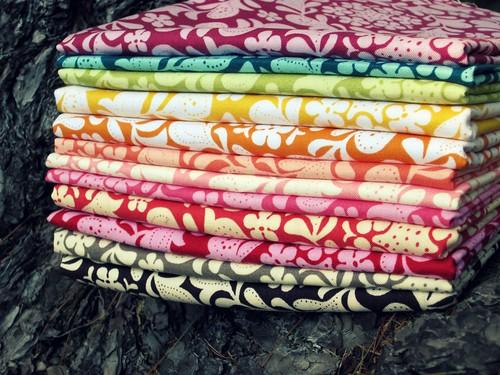 Henna Garden Fabric Stack