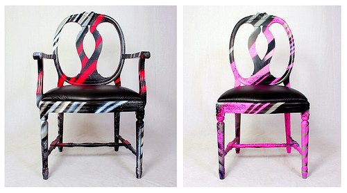 Graffiti Chairs