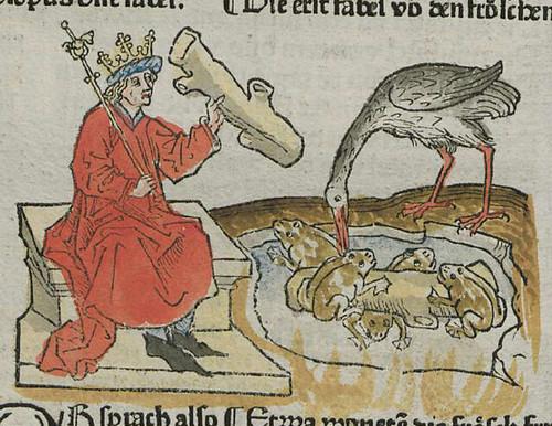ranae et Iuppiter