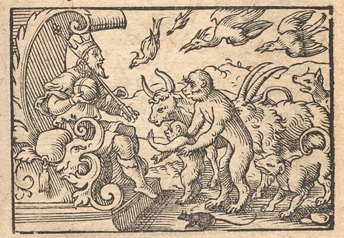 Simia et Iuppiter - Osius