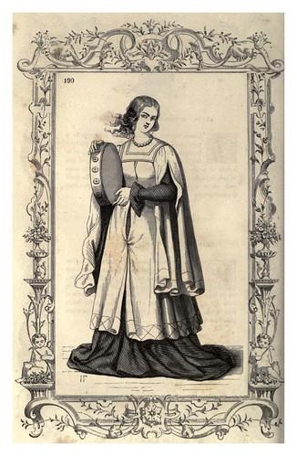 010- Vestimenta antigua de mujer en Toscana-Habiti antichi et moderni di tutto il mundo- Cesare Vecellio
