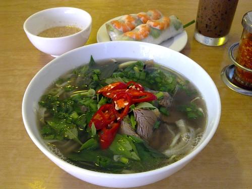 Phở Bò and Gỏi Cuốn
